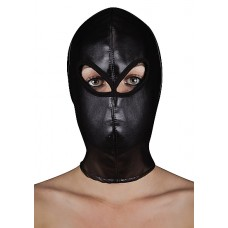 Extreme Leather Hood w/Ribbon ties
