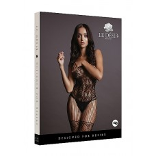 Desir - Lace and Fishnet Bodystocking