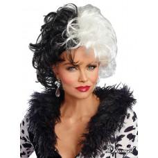 Dalmatian Diva Wig