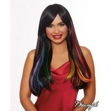 Hidden Rainbow Wig