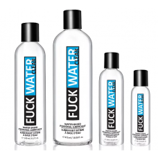 FuckWater Clear waterbased lubricant